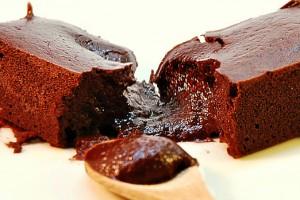 Gâteau bio au chocolat